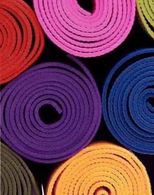 Reciclá tu mat de yoga cuando ya no lo uses o tengas que reemplazarlo