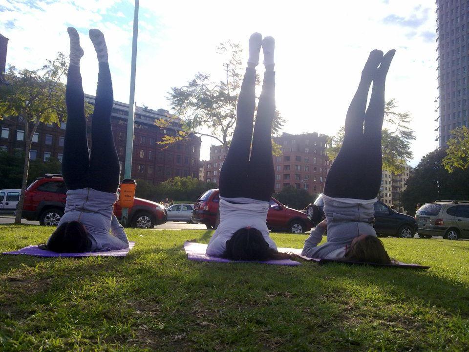 Clases de Yoga con amigas
