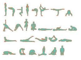 bikram yoga - asanas, posturas