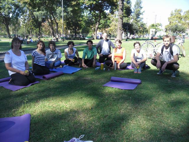 Clases de Yoga en Parque Centenario 8