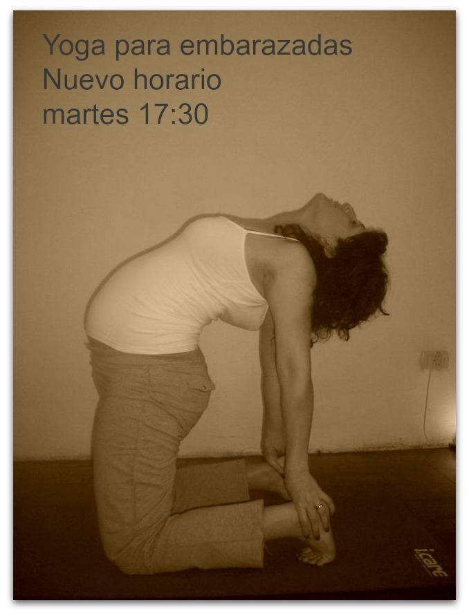Yoga para embarazadas - Parque Centenario - Caballito