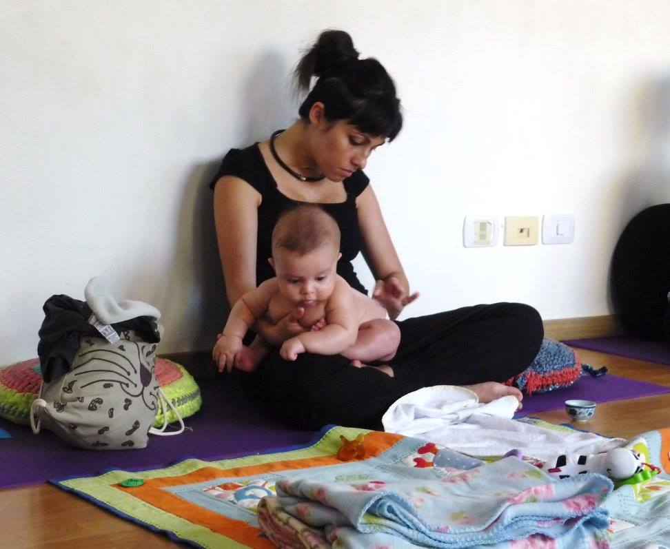 Taller de Masaje Shantala para bebés