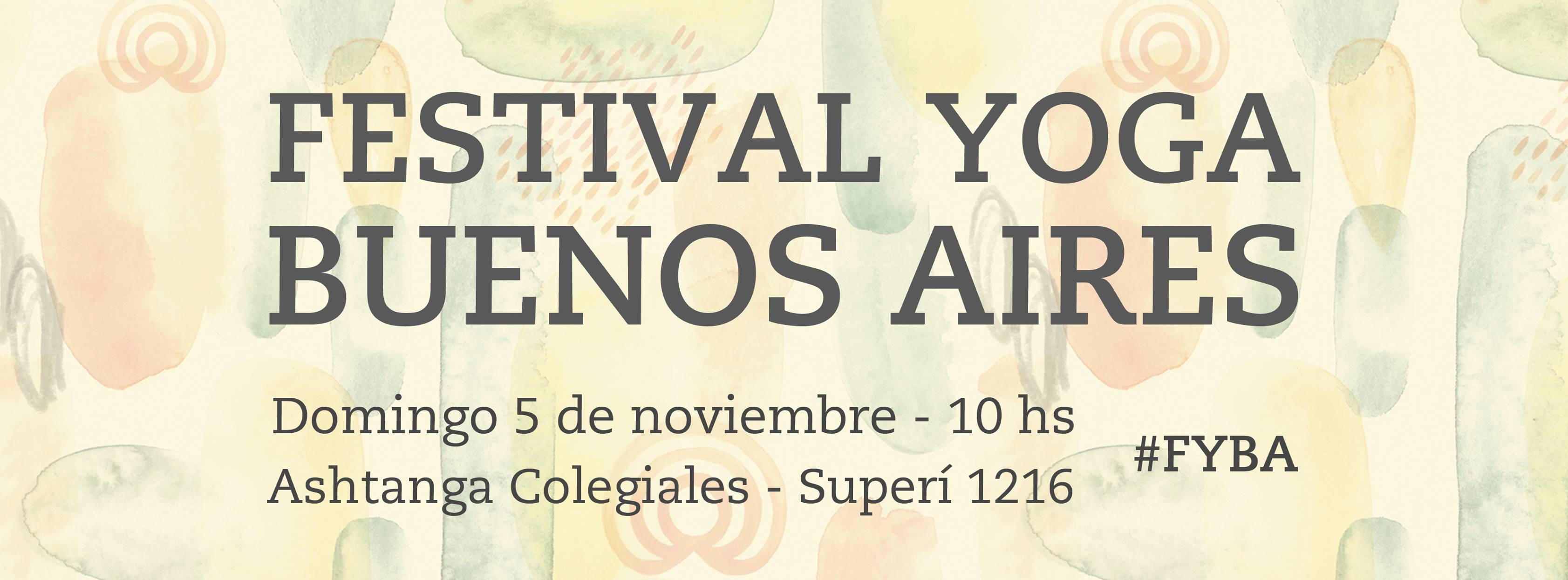 Festival de Yoga en Buenos Aires