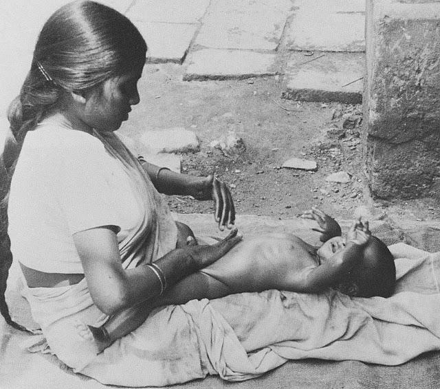 Masaje Shantala para familias
