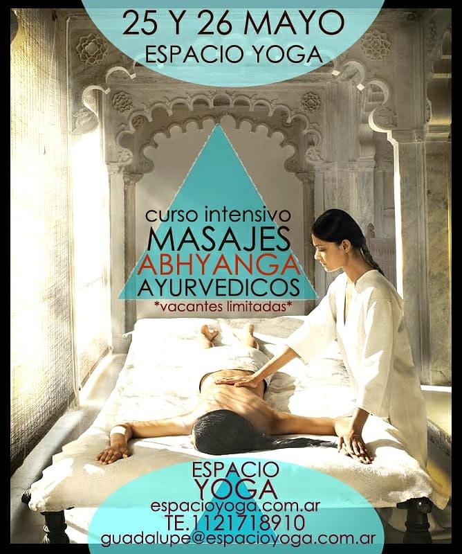 Curso de Formación en Masajes Ayurvédicos – Nueva fecha!