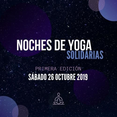 NOCHES DE YOGA, Solidarias