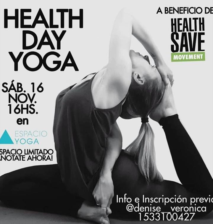 Clase especial a beneficio de Health Save Argentina