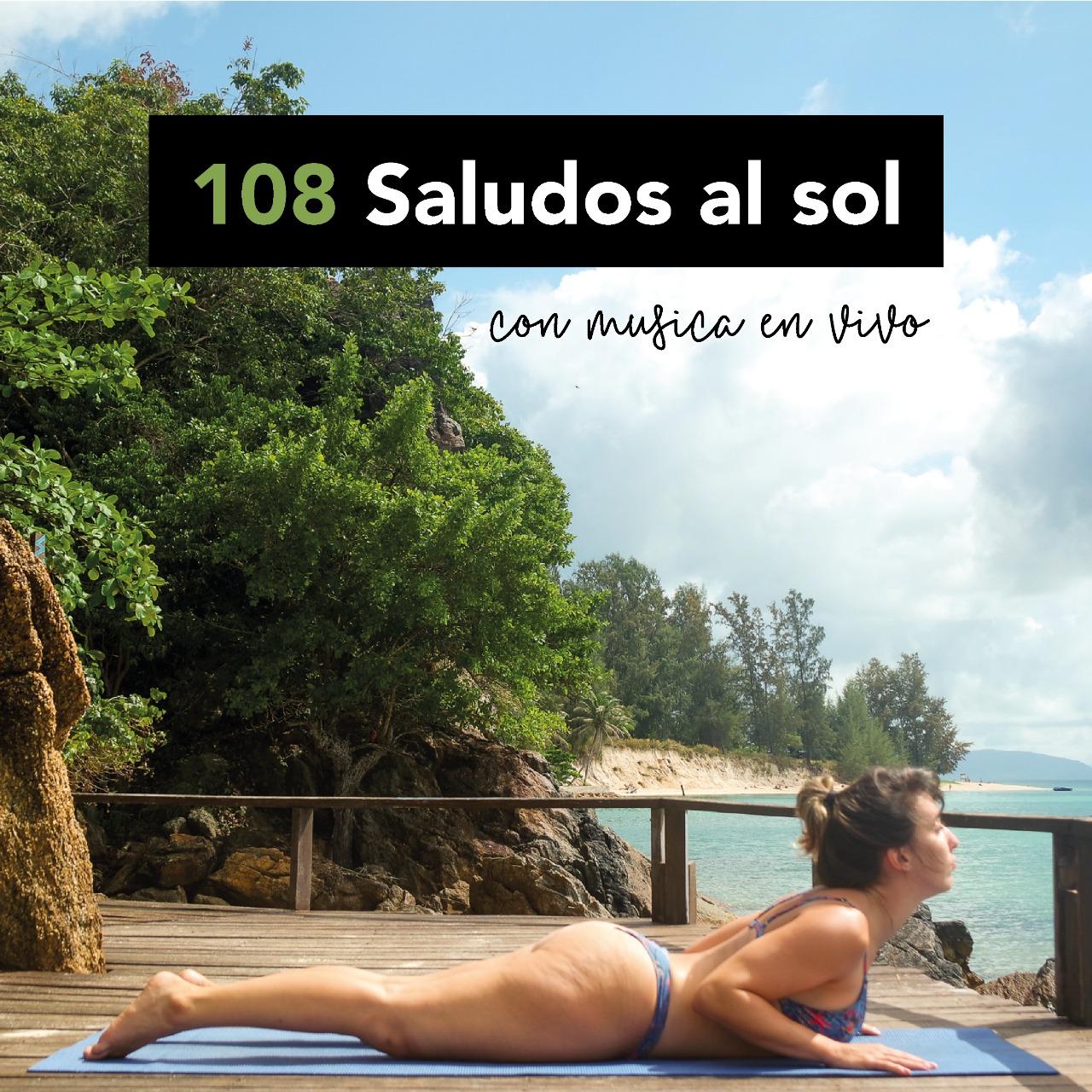 108 saludos al Sol en una terraza en Palermo – Imperdible!