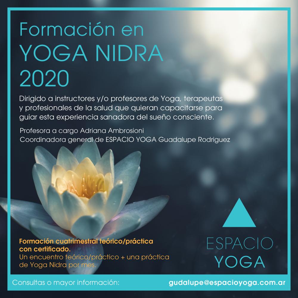 Formación en Yoga Nidra 2020