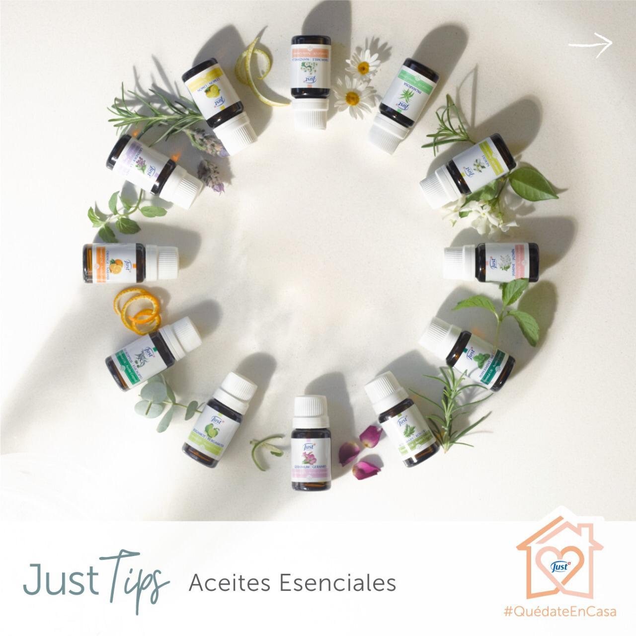 Aromaterapia en casa