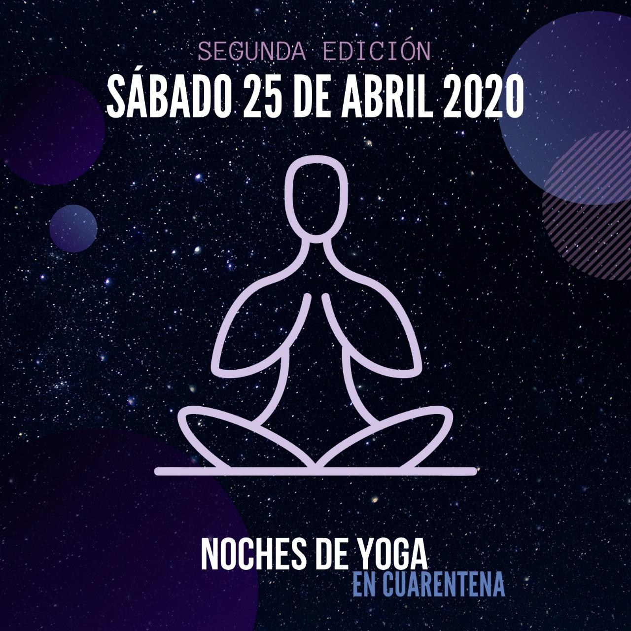 NOCHES DE YOGA Solidarias -en cuarentena-