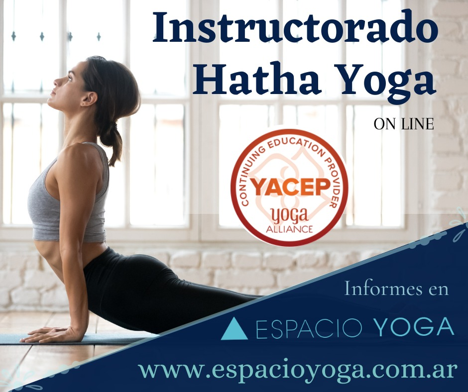 Instructorado de Hatha Yoga tradicional – INSCRIPCIÓN 2021