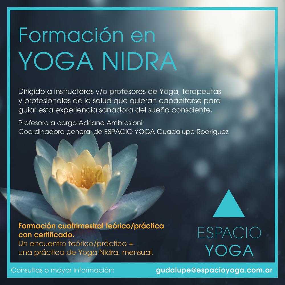 Formación en Yoga Nidra 2021
